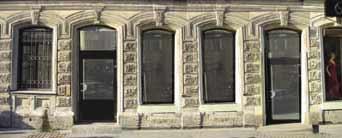 Фрагмент проектируемого фасада по ул. Жуковского